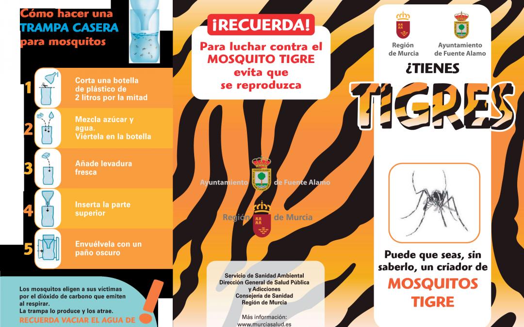 Precauciones contra el Mosquito Tigre