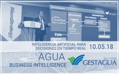 GESTAGUA, APLICACIÓN CONCRETA DE BUSINESS INTELLIGENCE AL AGUA