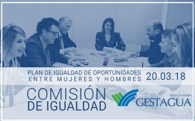 REUNIÓN DE LA COMISIÓN DE IGUALDAD DE GESTAGUA
