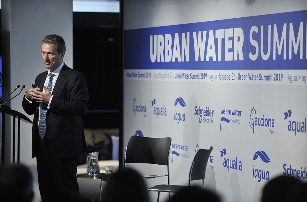 Bernardo Mingo, Director de Desarrollo participa en la primera edición del Urban Water Summit