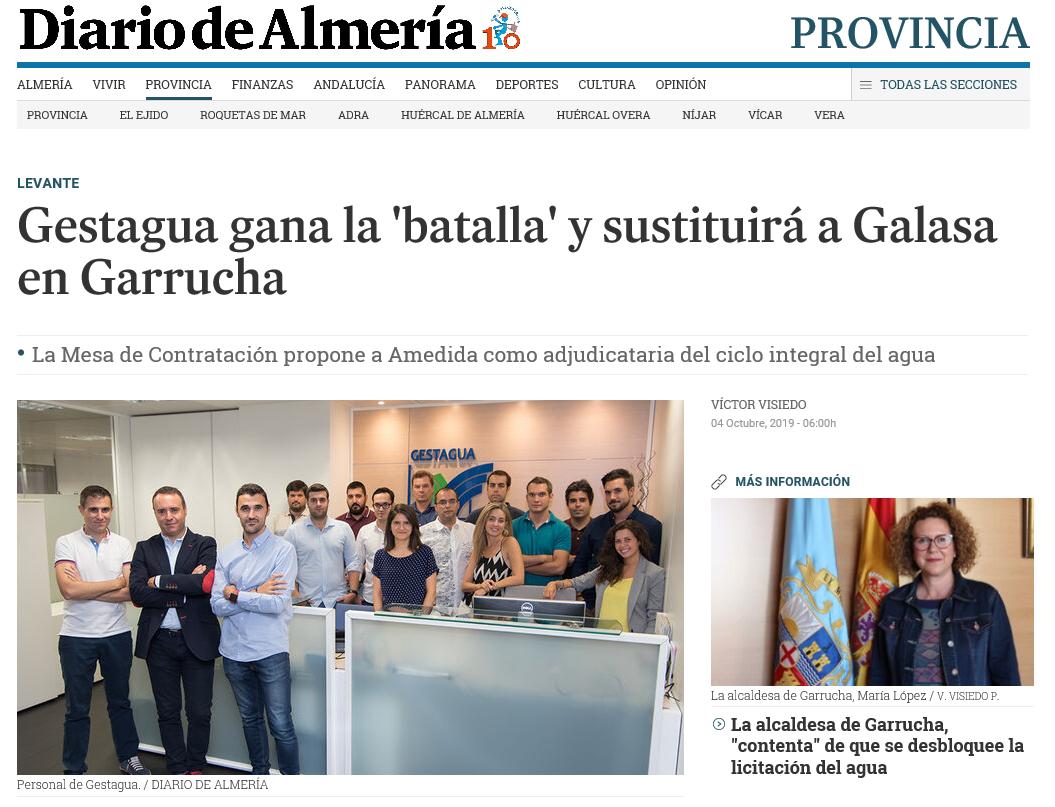 Los vecinos de las Palmas aprueban el servicio de agua