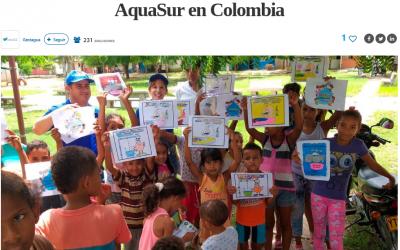 Grupo SAUR pone en marcha el taller social AquaSur en Colombia